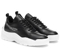 Sneakers Gumboy aus Leder