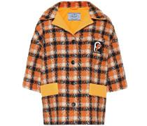 Tweed-Jacke aus Baumwolle