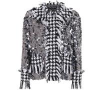Verzierte Jacke aus Tweed