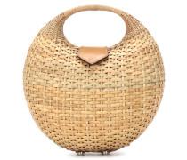 Bucket-Bag Elena aus Stroh