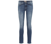 Mid-Rise Skinny Jeans Pyper Crop