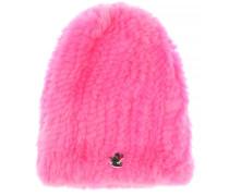 Verzierte Mütze aus Pelz
