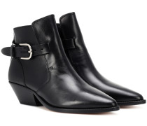 Ankle Boots Santiag Buckle Story