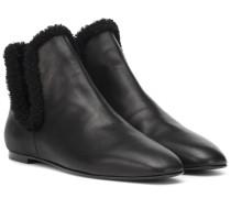 Ankle Boots Eros aus Leder