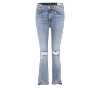 Cropped Jeans 10 Inch Stove Pipe