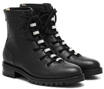 Ankle Boots Bren Flat aus Leder