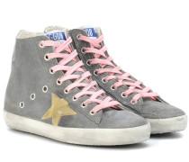 Sneakers Francy aus Veloursleder