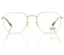 Brille aus Metall