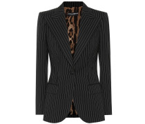 Blazer aus Stretch-Wolle