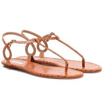 Sandalen Almost Bare aus Leder
