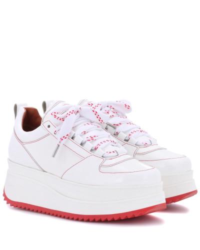 Sneakers Edel aus Lackleder