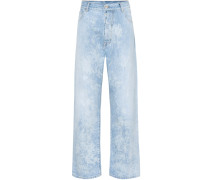 Boyfriend Jeans Mottle High Rise