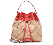 Bucket-Bag Juno aus Raffiabast