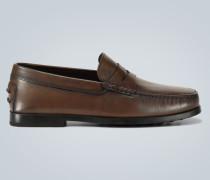 Penny-Loafers aus Leder