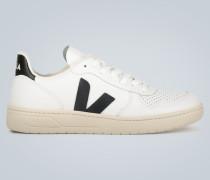Leder-Sneakers V-10