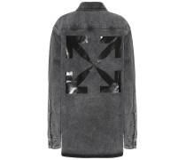 Jacke aus Baumwoll-Denim