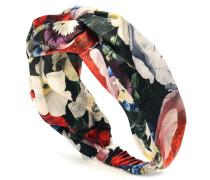 Bedrucktes Haarband aus Seide