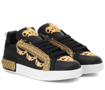 Verzierte Sneakers Portofino