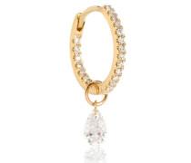 Einzelner Ohrring aus 18kt Gold mit Diamanten