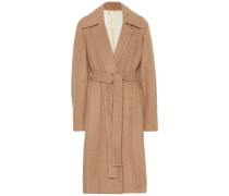 Mantel aus Alpaca und Schurwolle