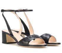 Sandalen aus Nappaleder