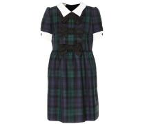 Kleid aus Wolle mit Schleifen