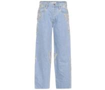 Verzierte Jeans Diamond aus Baumwolle