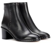 Ankle Boots Willow aus Leder mit Nieten