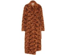 Mantel aus einem Mohairgemisch