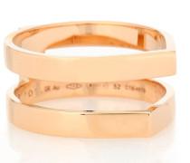 Ring Antifer aus 18kt Roségold