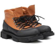X Both Ankle Boots Banco aus Leder