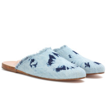Slippers Pasoumi aus Denim