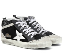 High-Top-Sneakers Midstar aus Leder