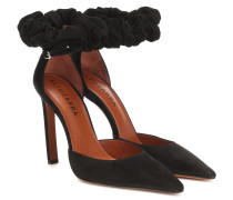 Pumps George aus Veloursleder