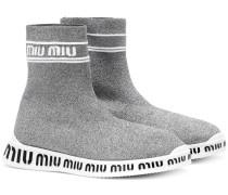Sneakers aus Lurex®
