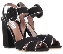 Sandaletten Andres aus Veloursleder