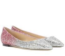 Ballerinas Romy Flat mit Glitter