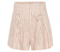 Shorts Painted Heart Lace Up