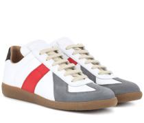 Sneakers Replica aus Leder