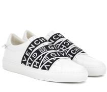 Sneakers 4G aus Leder