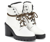Ankle Boots Crosby aus Leder