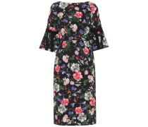 Bedrucktes Kleid aus Jacquard