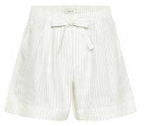 Shorts mit Nadelstreifmuster