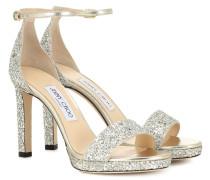Sandalen Misty 100 mit Glitter