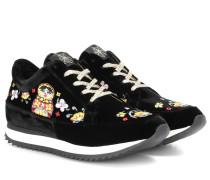Sneakers Work it! Matroschka aus Samt