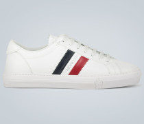Leder-Sneakers Monaco