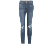 Cropped Jeans Vamp Fray