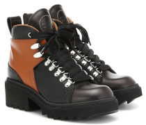 Ankle Boots Bella aus Leder