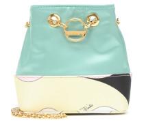 Bucket-Bag Bonita Mini aus Satin