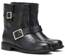 Ankle Boots Youth aus Leder